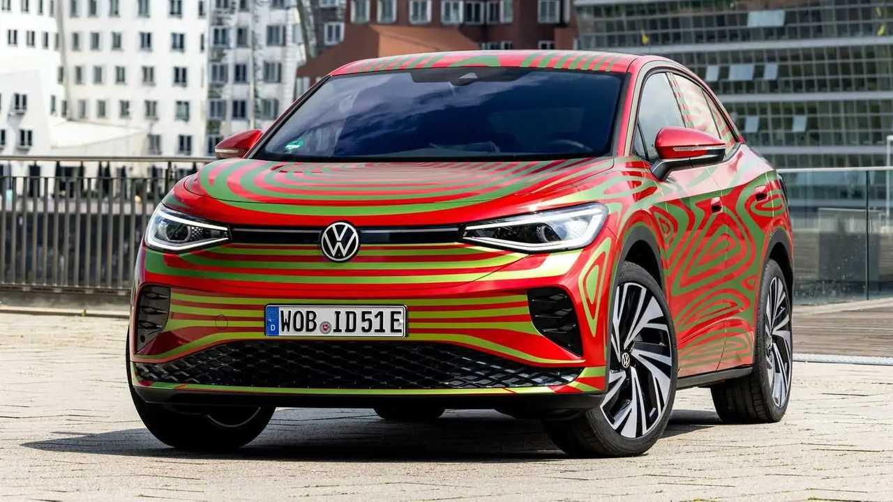 Teaser Volkswagen ID.5 GTX 2022