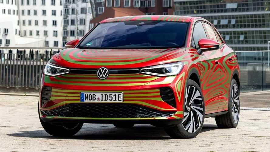 Volkswagen представил ID.5 GTX, но пока только в красочной пленке