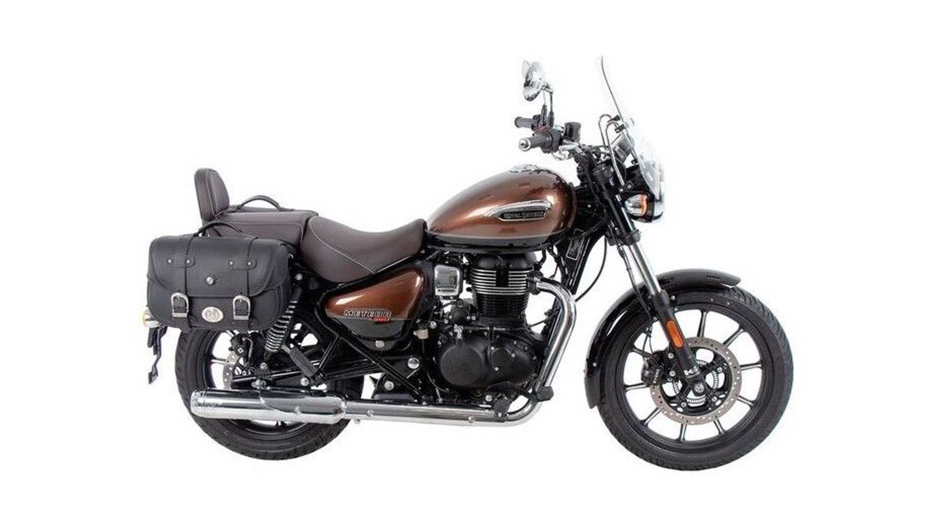 Hepco & Becker Luggage: Royal Enfield Meteor 350 - Leather