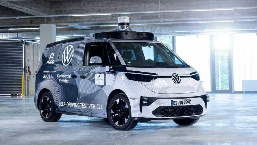Volkswagen ID. Buzz AD: se vislumbra la furgoneta eléctrica