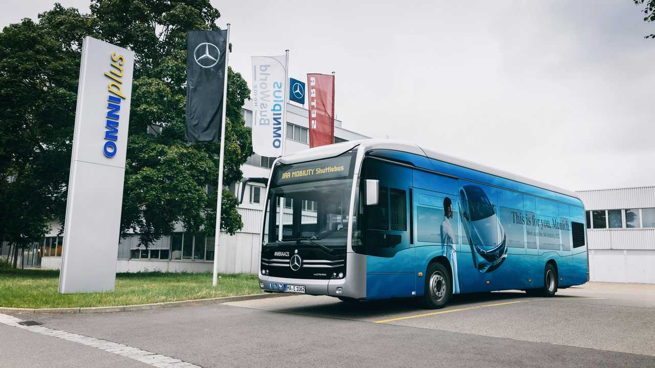 Mercedes-Benz eCitaro - Navetta all'IAA di Monaco 2021
