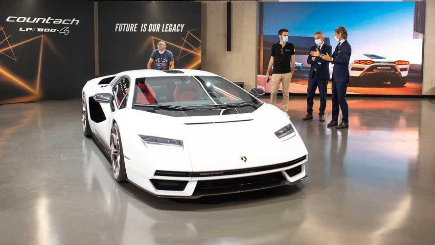 Recém-lançado, novo Lamborghini Countach já esgotou