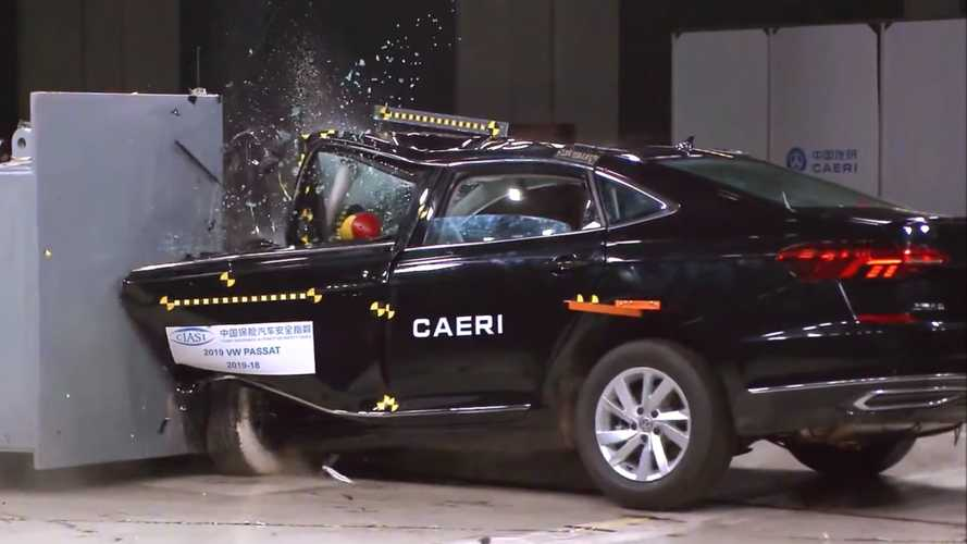 Failed VW Passat crash test linked to saloon's downfall in China