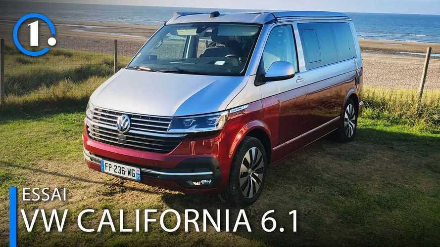 Essai Volkswagen California 6.1 (2021) - Comme un vent de liberté