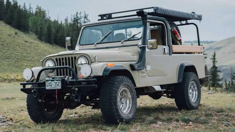Restomod Jeep CJ-8 Scrambler Arrives With Retro Looks, Modern Tech