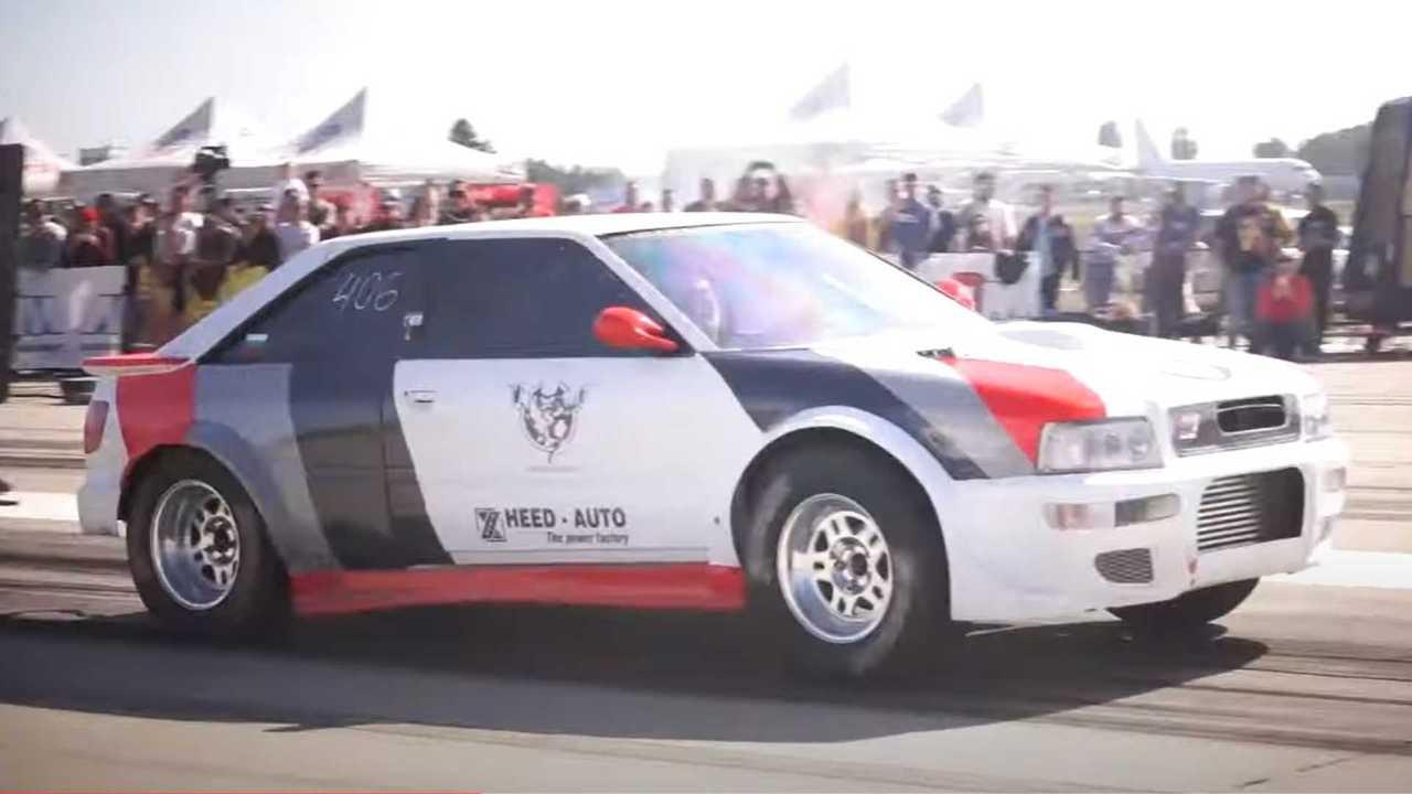 Рекордный заезд Audi S2
