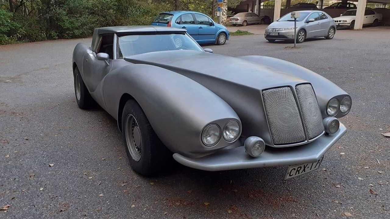 Corvette mit monströsem Grill aus Finnland