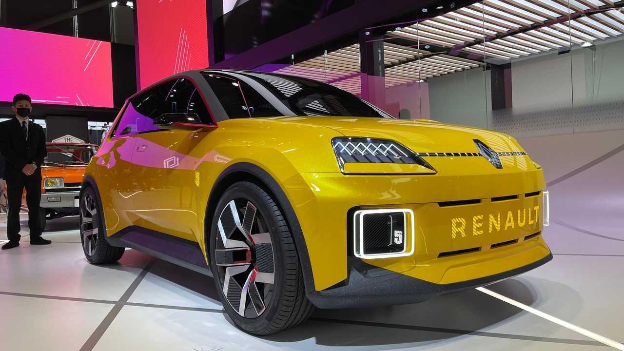 Renault R5 elétrico no Salão de Munique