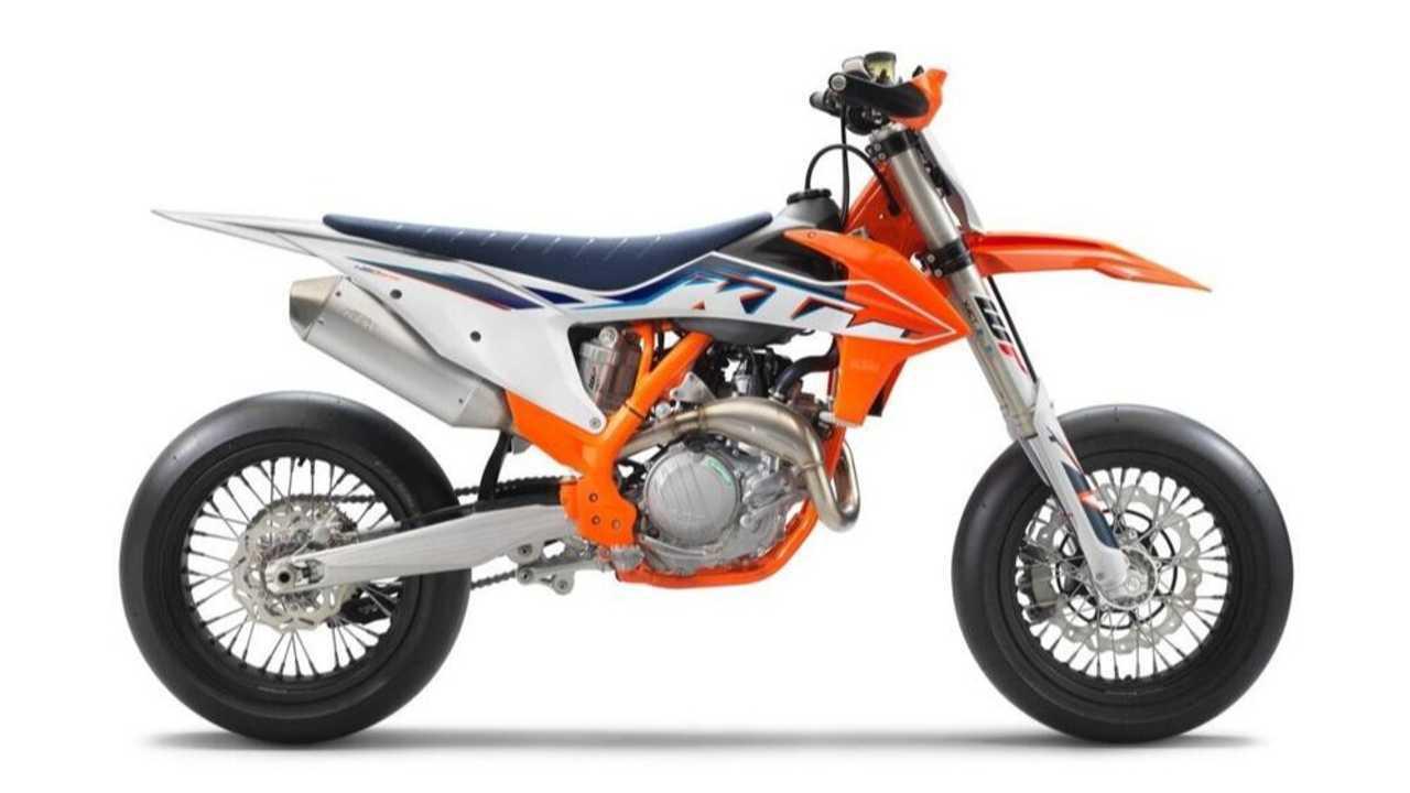 KTM Updates The 450 SMR For 2022
