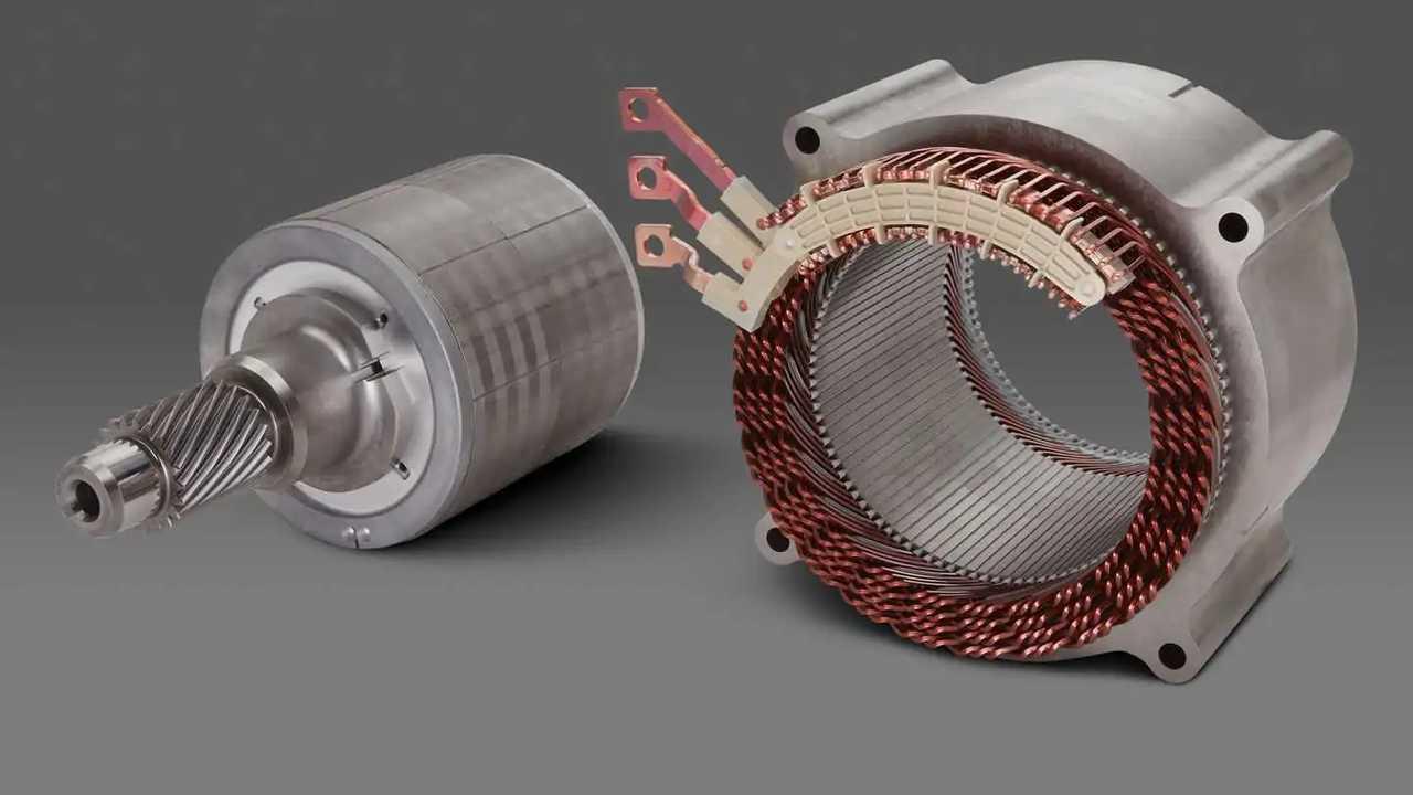 Un motore elettrico GM
