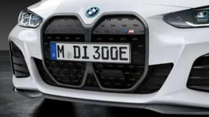 La BMW i4 M50 reçoit ses pièces M Performance