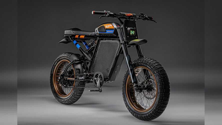 Hot Wheels And SUPER73 Team Up To Launch This Badass E-Bike