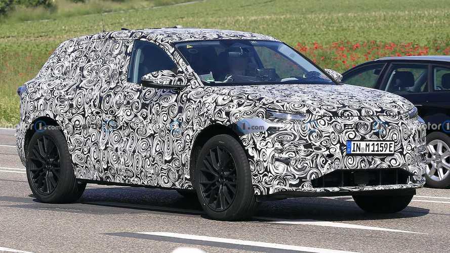 Новые шпионские фото Audi Q6 e-tron
