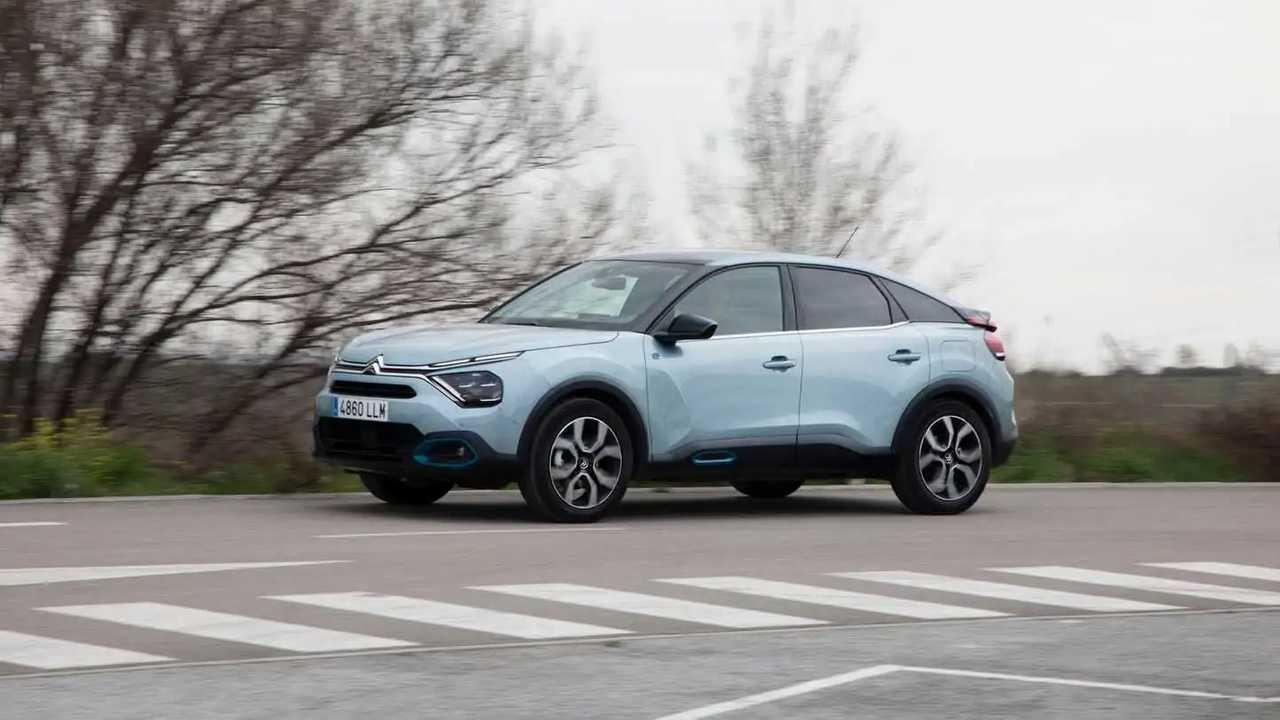 Prueba Citroën ë-C4 2021