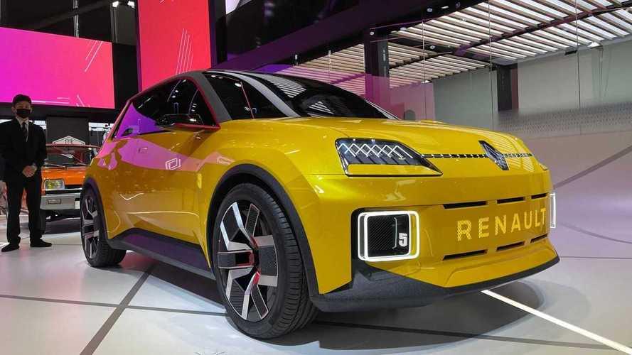 Renault 5 elétrico: veja fotos ao vivo no Salão de Munique