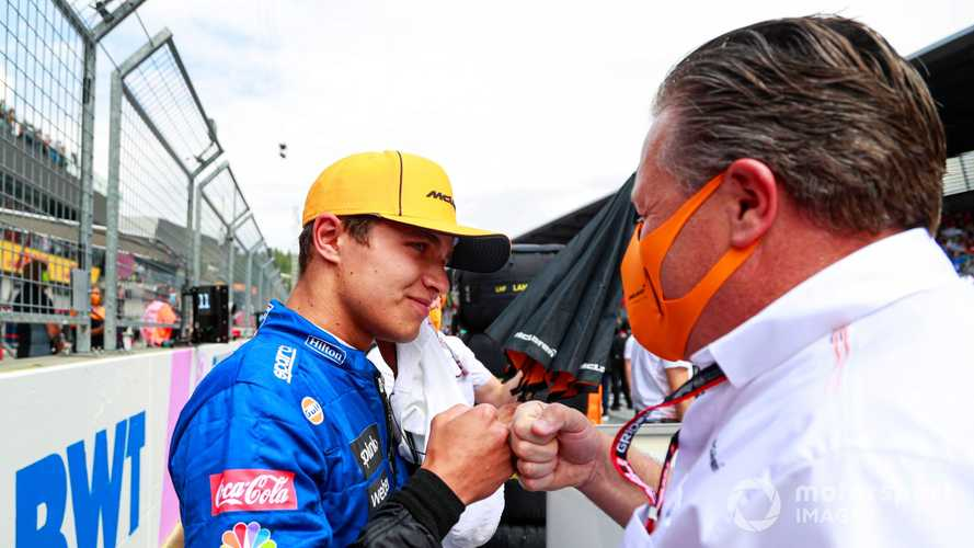 Norris: McLaren's F1 team boss approach important in my development