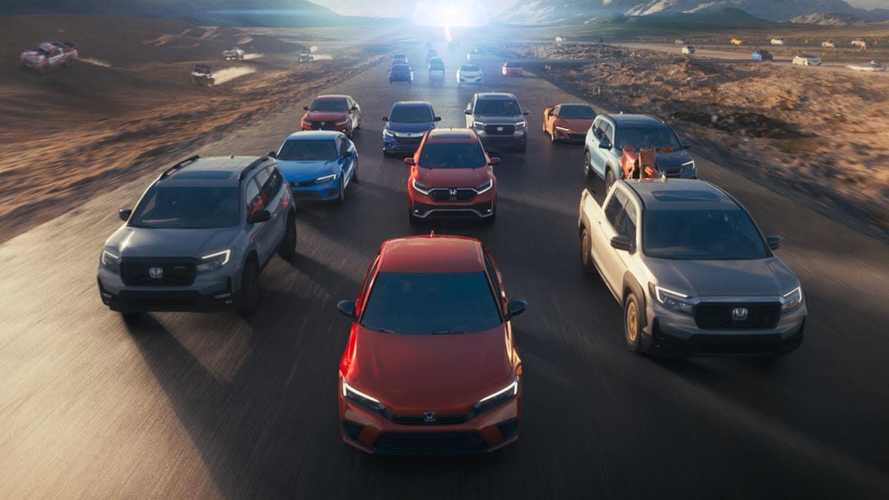 New Honda Ad Shows Some Of Its Greatest Hits Racing Towards The Future
