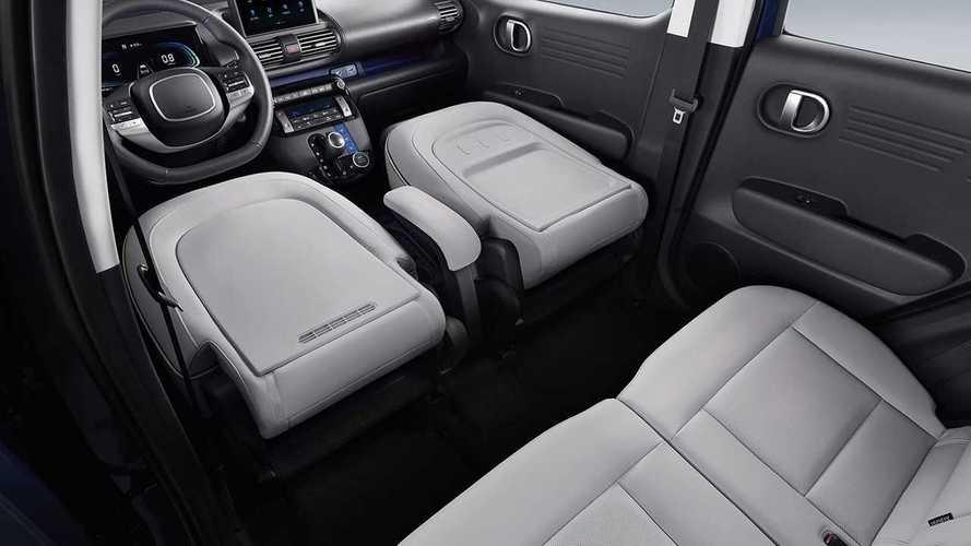 Mini-SUV Hyundai Casper revela interior mais equipado que HB20
