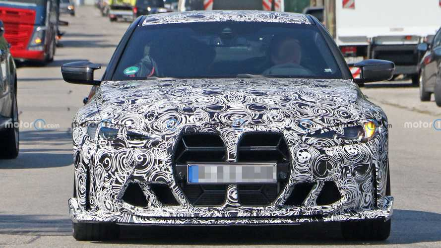 BMW M4 CSL Spied With Different, Equally Controversial Grille
