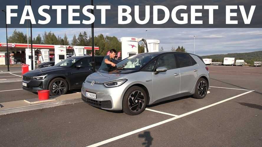 VW ID.3 Pure: Fastest Budget Compact In Bjørn's 1,000 Km Challenge