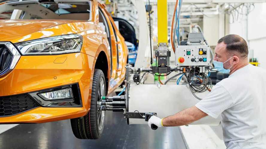 Megkezdődött az új Škoda Fabia tömeggyártása