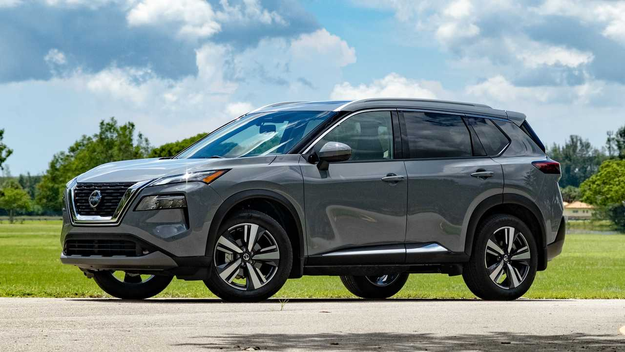 2021 Nissan Rogue Comparison Exterior