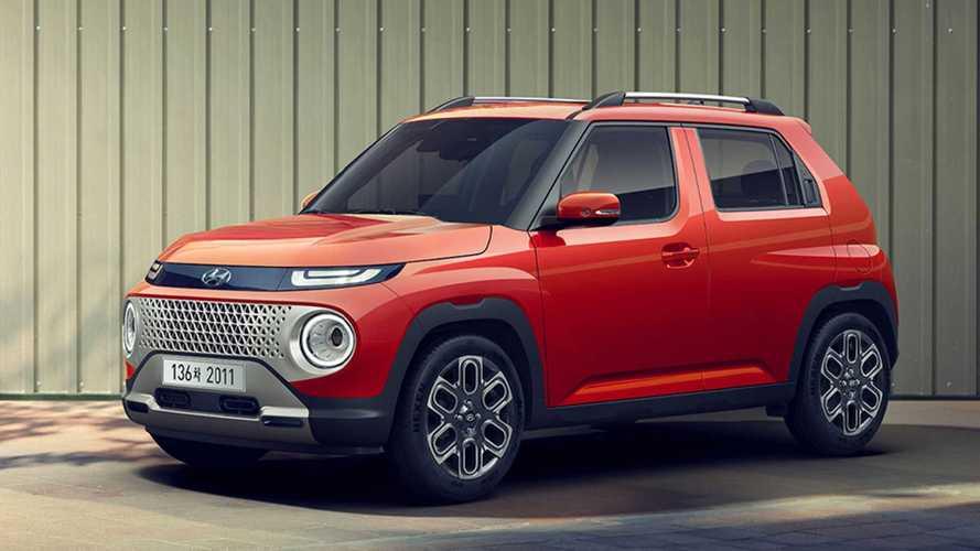 Il SUV con misure da citycar, ecco la Hyundai Casper