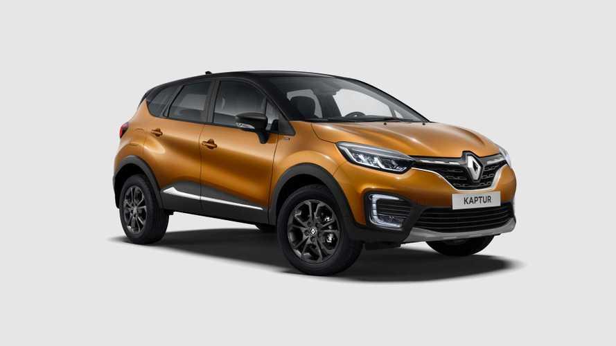 Российский Renault Kaptur получил лимитированную версию Intense