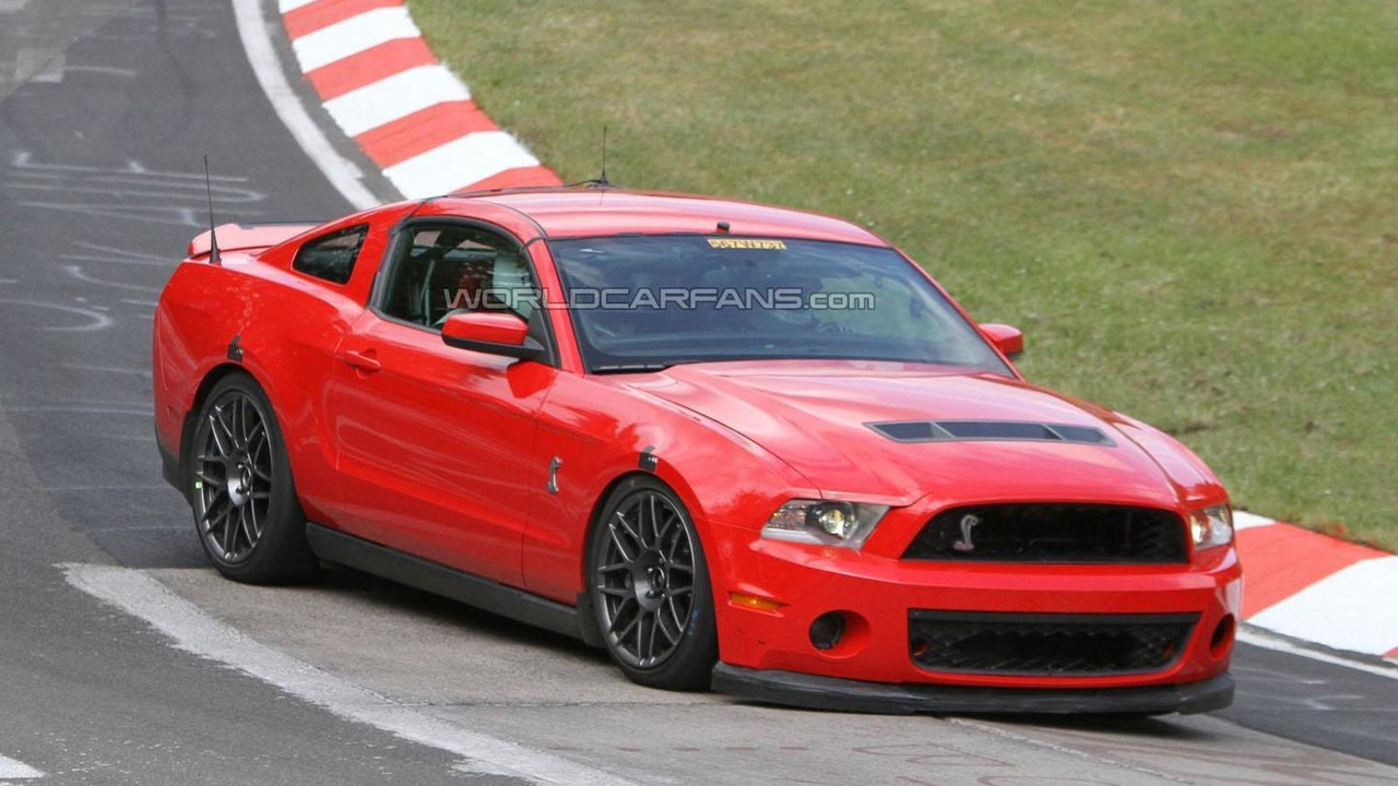 Ford Shelby Gt Spy Photo