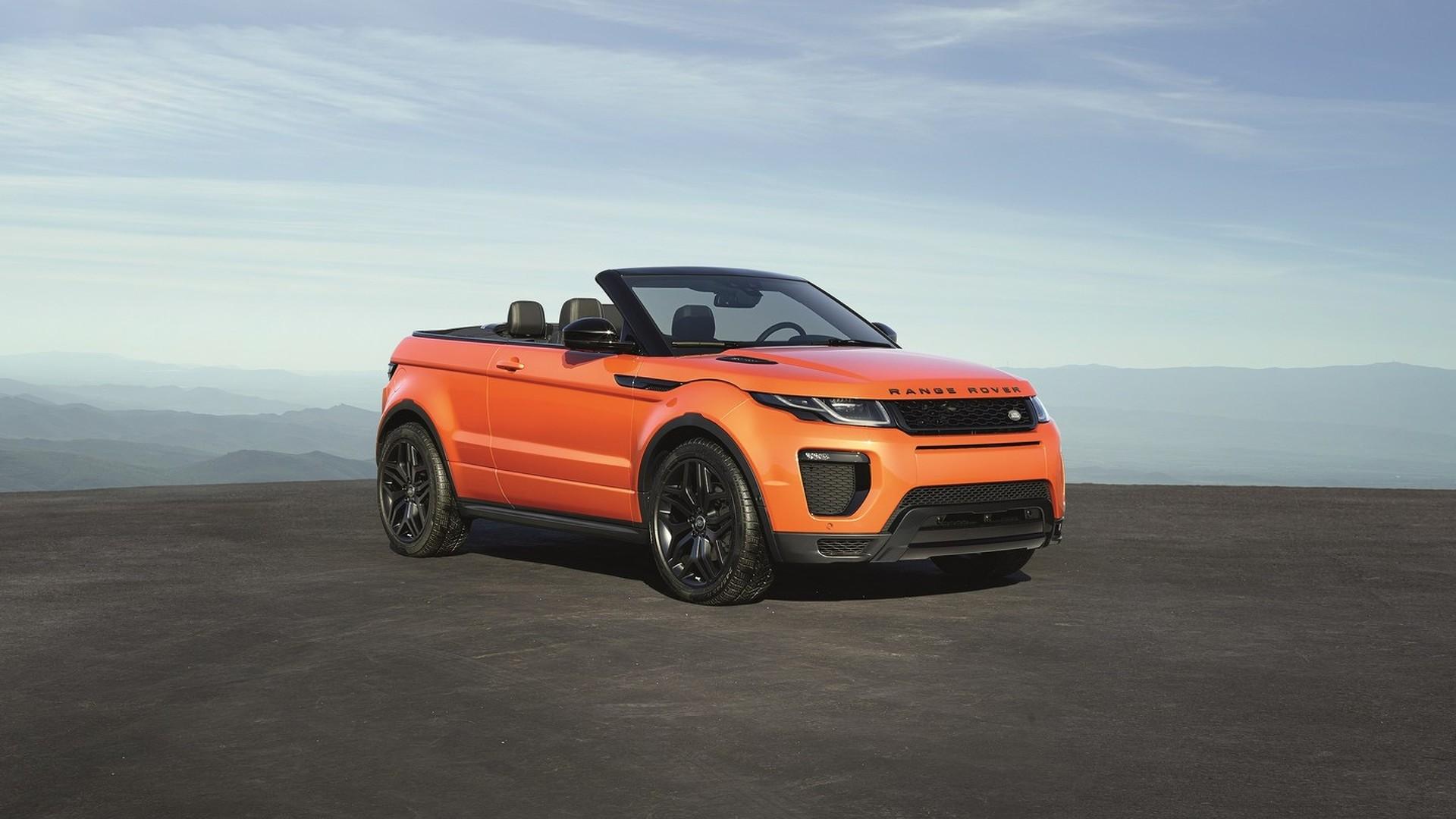 Range Rover Convertible >> Land Rover Range Rover Evoque Convertible News And Reviews