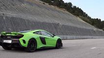 McLaren 675 LT Napier Green