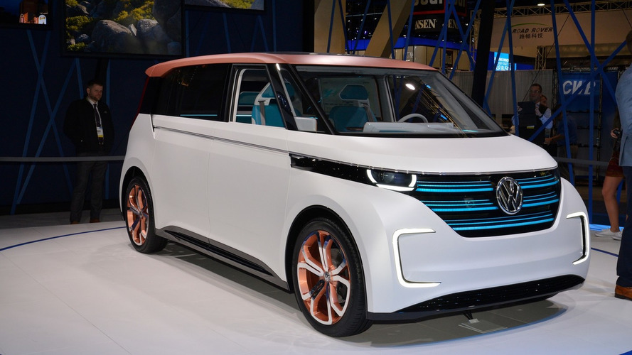 CES welcomes VW Budd-e concept