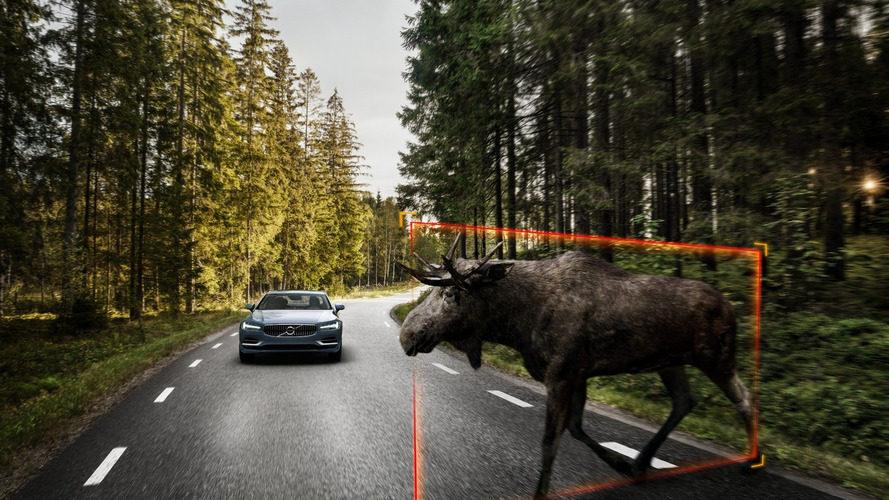 New Volvo S90 can detect moose