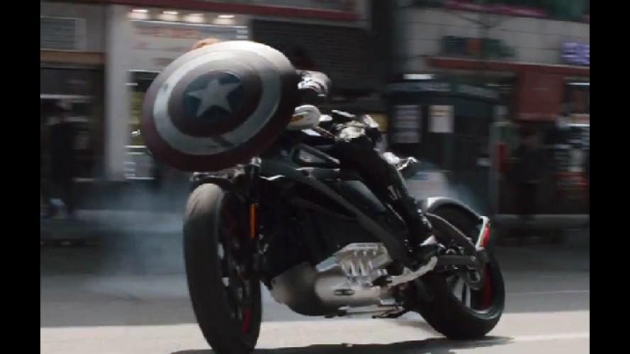 """Harley-Davidson elétrica aparece em trailer de """"Vingadores 2"""""""