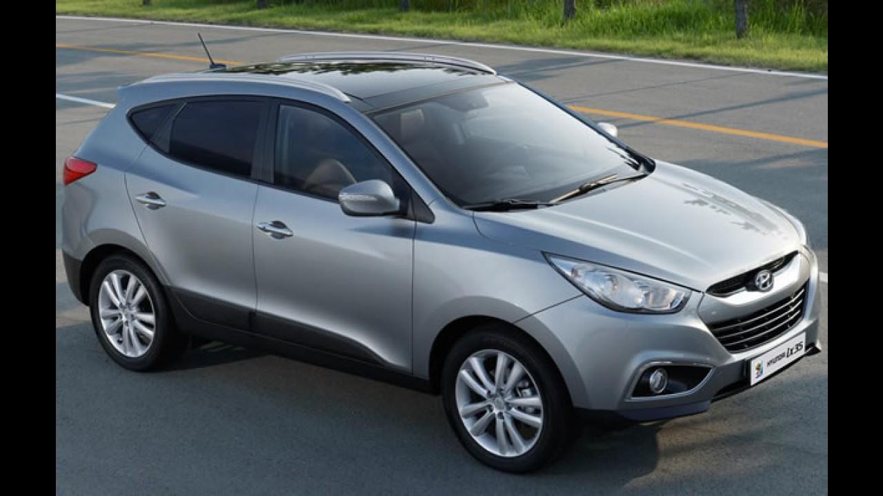 Hyundai lança oficialmente o ix35 no Brasil - Preços variam entre R$ 88 mil e R$ 115 mil