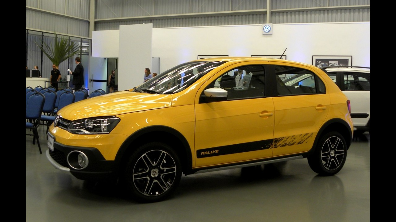 Galeria: conheça o visual do novo Gol Rallye