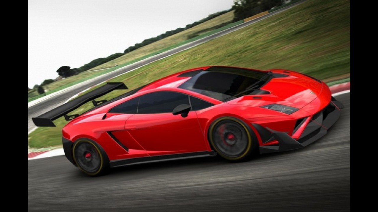 Lamborghini Gallardo GT3 FL2 racer é revelado