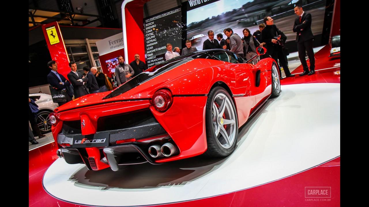 Ferrari fará versão ainda mais exclusiva da LaFerrari