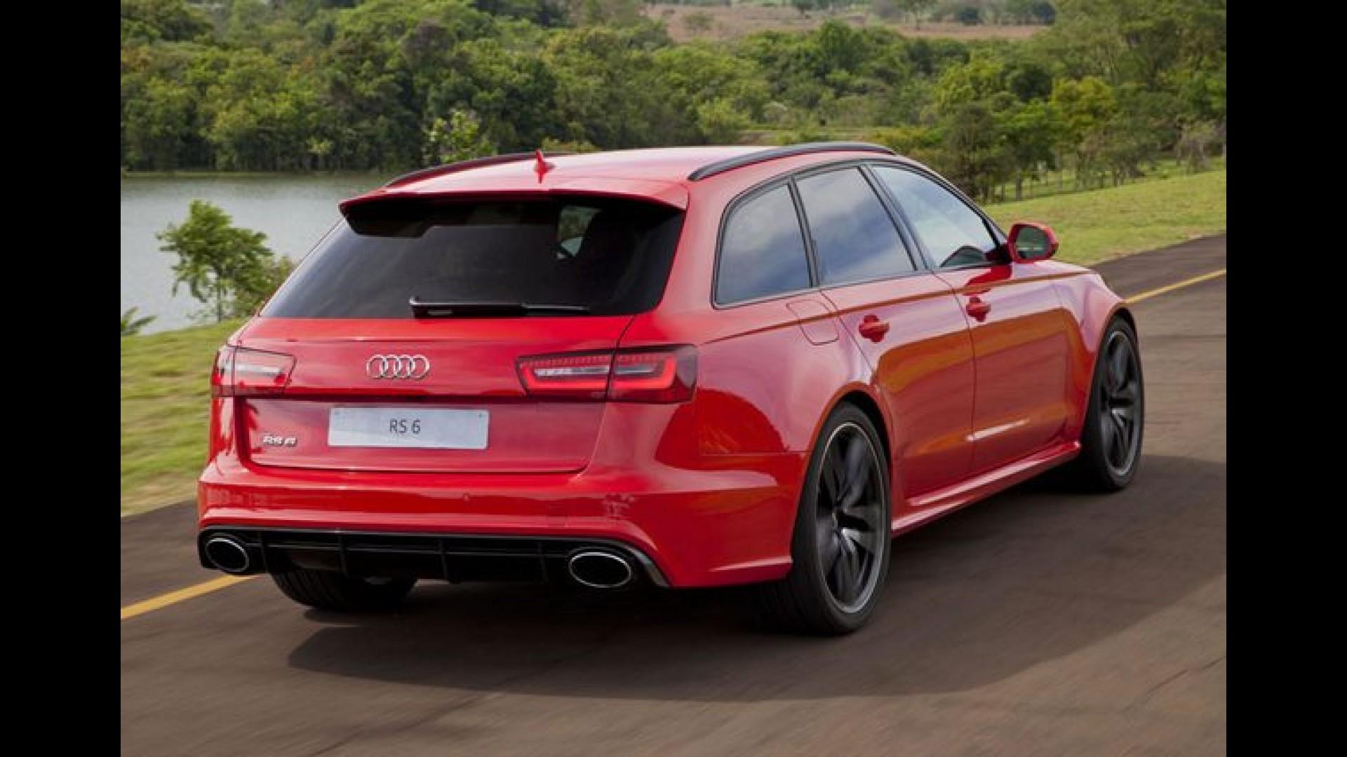 Audi define preço da perua RS6 Avant de 560 cv no Brasil ...