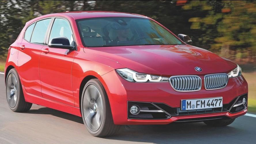 Nova geração do BMW Série 1 ficará maior e perderá tração traseira