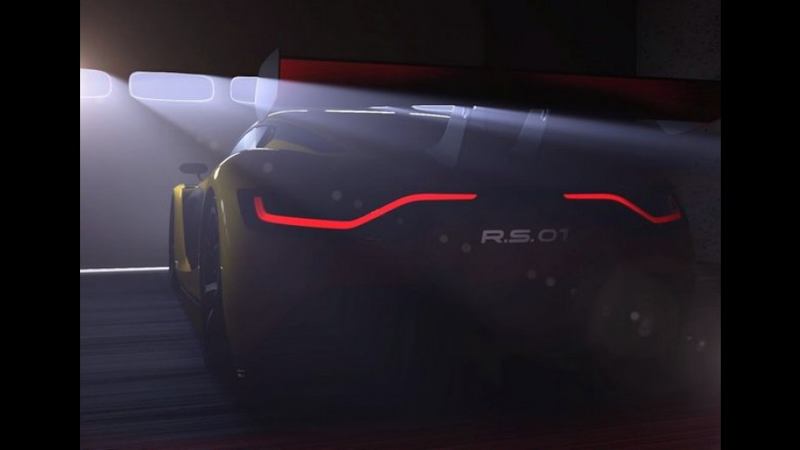 Renault divulga teaser do novo carro de corrida Sport R.S. 01
