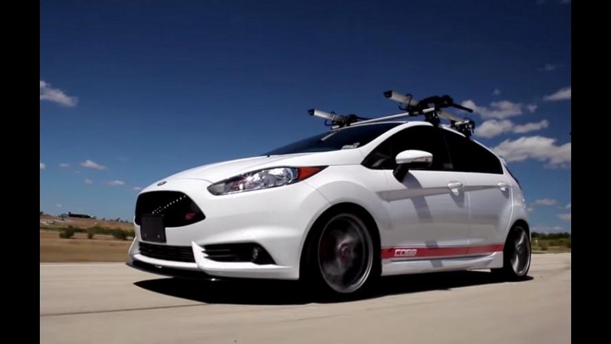 Vídeo: Fiesta ST ganha kit de preparação e vai a 200 cv de potência