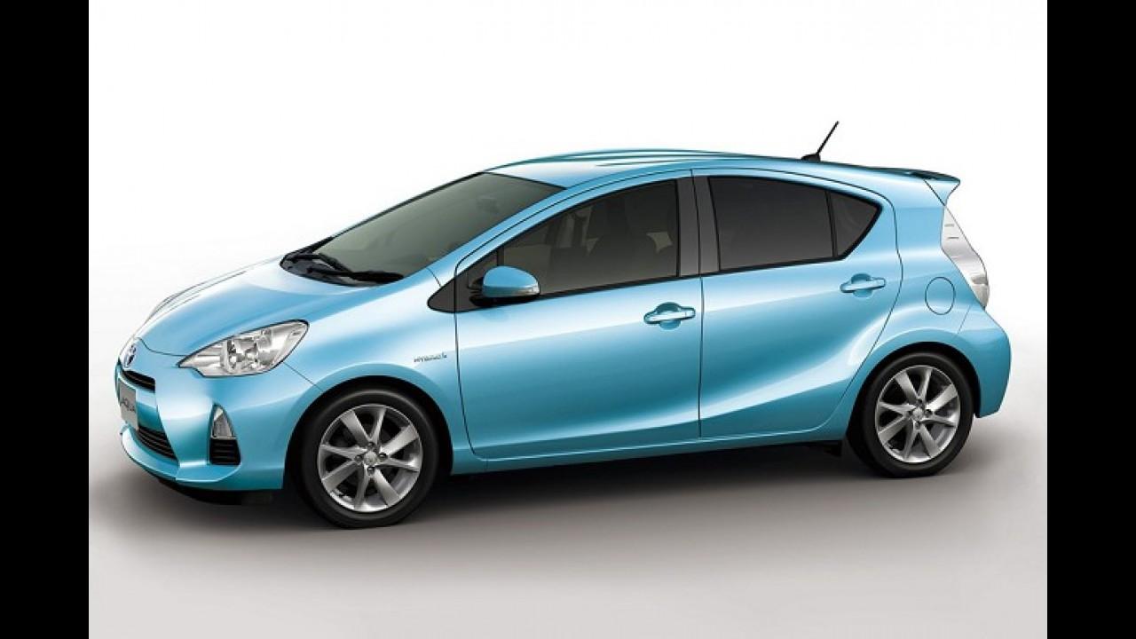 Híbrido: Toyota Prius C é lançado no Uruguai