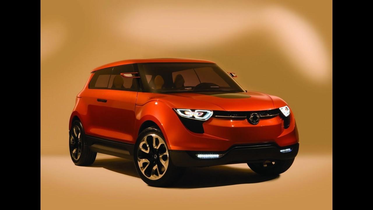 SsangYong poderá apresentar versão de produção do XIV-1 Concept no Salão de Genebra