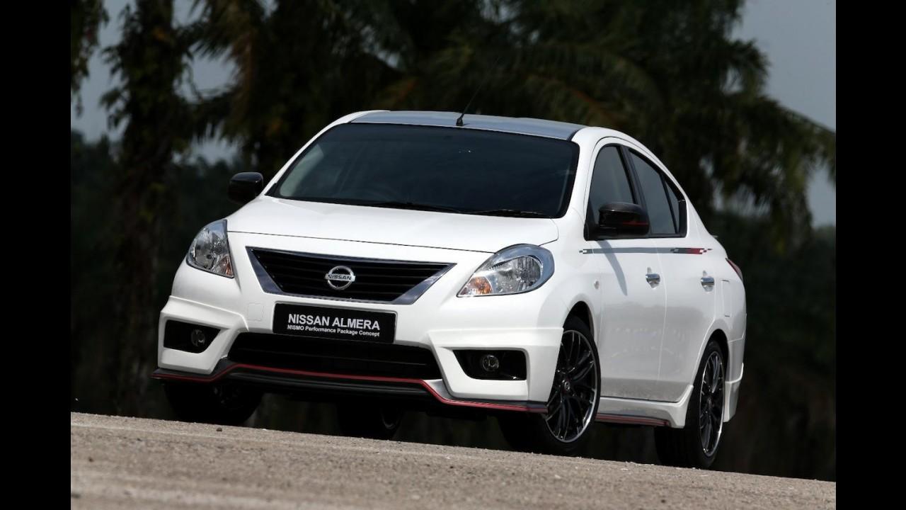 Nissan Versa ganha visual esportivo com preparação da Nismo