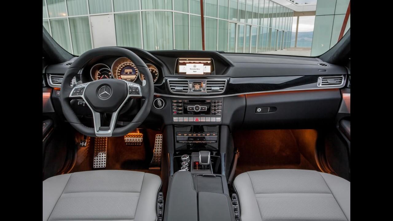 Mercedes Benz E63 AMG 2014 Ganha Opção S Model E Tração Integral   Veja  Fotos