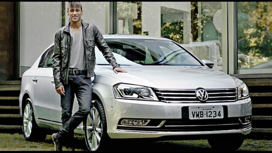 """Vídeo: Neymar é """"o cara"""" em comercial da Volkswagen"""
