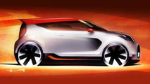 Kia Track-ster Concept teaser