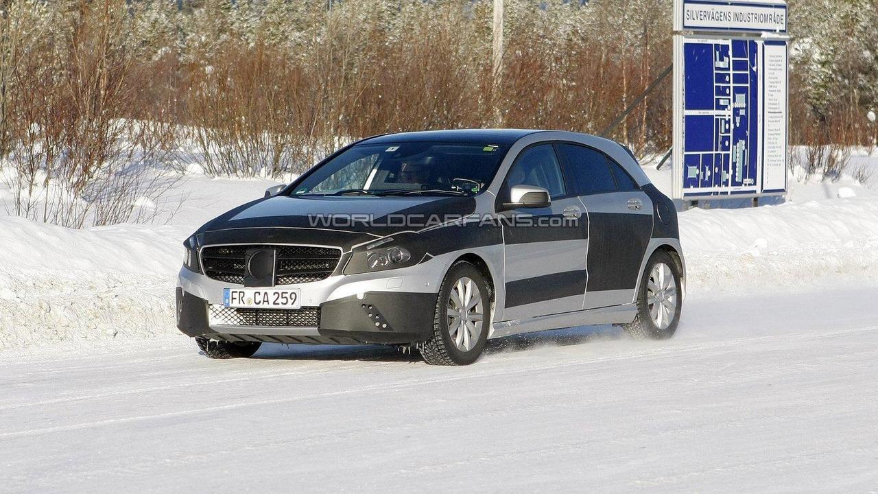 2013 Mercedes-Benz A-Class spy photo 23.02.2012