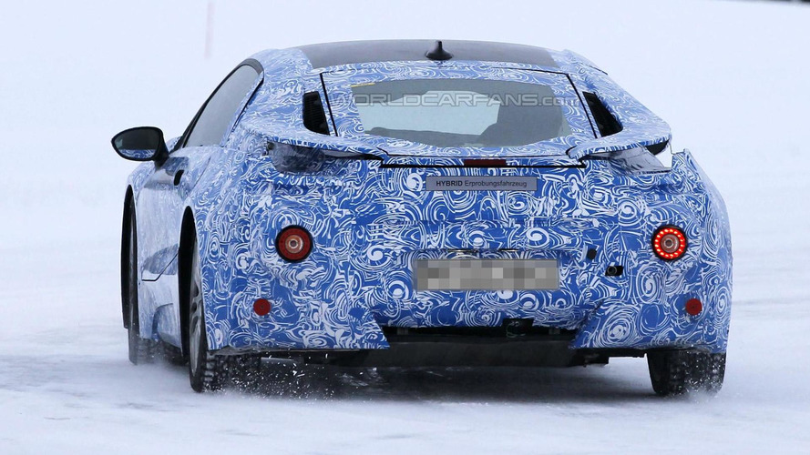 WCF Spy Video: BMW i8 prototype